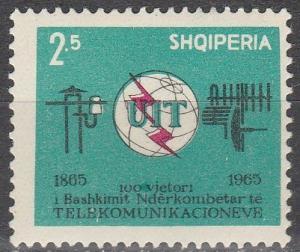 Albania #814  F-VF Unused  (V1306)