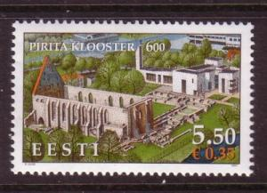 Estonia Sc571 2007 Pirita Convent stamp sheet NH