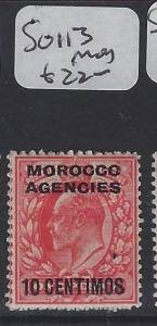 MOROCCO AGENCIES  (P1305B) KE  10C  SG 113     MOG