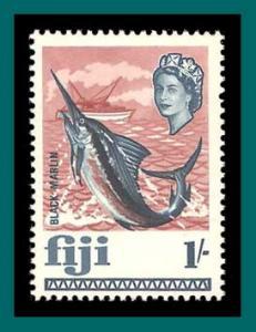 Fiji 1968 Black Marlin, MNH  248,SG379