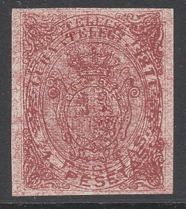 SPAIN  An old forgery of a classic stamp - Double print.....................C184