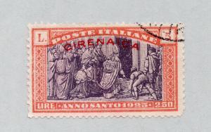 Cyrenaica - Sc# B6 Used  /  Lot 0319217