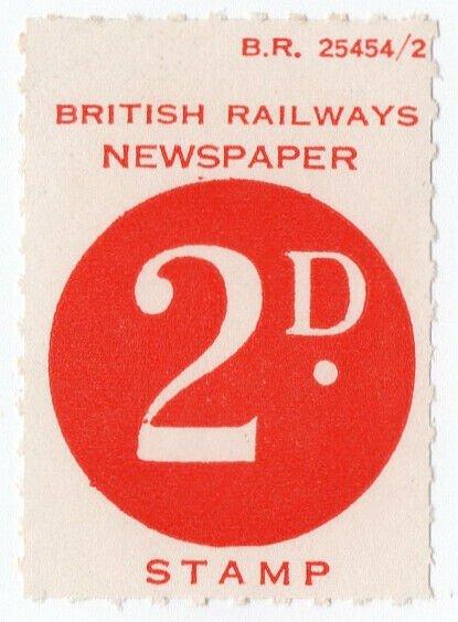 I B) British Railways Board : Newspapers 2d / HipStamp