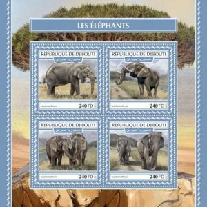 Z08 Imperf Djb17518b Djibouti 2017 Paul Mccartney Mnh ** Postfrisch Afrika Dschibuti
