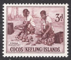 Cocos Islands Scott 1