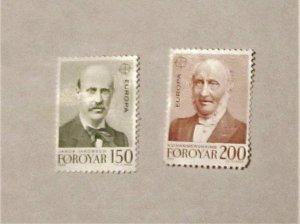 Faroe Islands - 53-54, MNH Set. Europa. SCV - $1.00