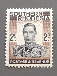 Southern Rhodesia 52 F-VF MH. Scott $ 13.00