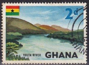 Ghana #51  F-VF Used (SU7857)