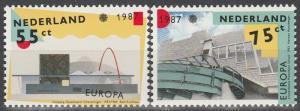 Netherlands #715-6  MNH   (S4148)