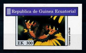 [71156] Equatorial Guinea  Insect Butterfly Souvenir Sheet MNH