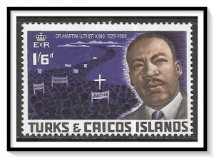 Turks & Caicos #180 Martin Luther King MNH