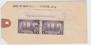 BMO MONEY TAG 38oz $1.90 +10cReg fee PLATE INSCRIPTION $1.00 x 2 WOW Canada