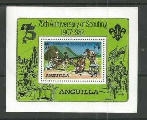 1982 Anguilla Scouts 75th anniversary sailing SS