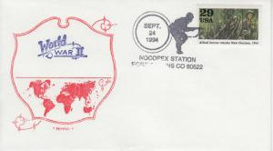 1994 50th Anniv End of WWII Fort Collins CO Artopage