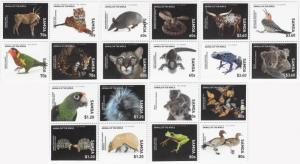 SAMOA - Animals of the World - Perf 20v Sheet - MNH