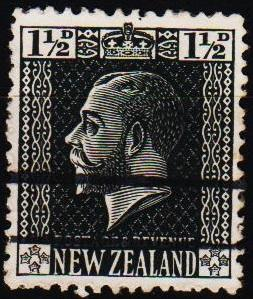 New Zealand. 1915 1 1/2d S.G.416 Fine Used