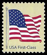 PCBstamps      US #4129 (41c)American Flag, MNH, (36)
