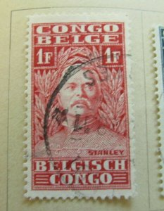 Belgisch Kongo Congo Belge Belgian Congo 1928 1fr fine used stamp