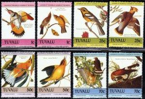 Tuvalu 279a-282b - Mint-NH - Audubon Birds (Cpl) (1985) (cv $4.80)