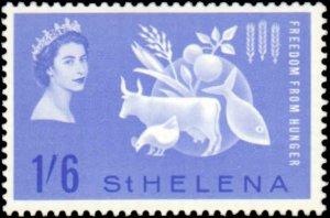 St. Helena #173, Complete Set, 1963, Hinged