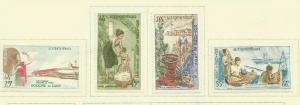 LAOS 1964 SCOTT 104-7 MH