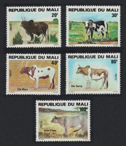 Mali Cattle 5v SG#835-839