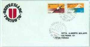 67748 - ITALY - POSTAL HISTORY - SPECIAL Postmark 1970 - UNIVERSIADE: Waterpolo