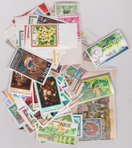 Niue - Lot of 140 Stamps In Complete Sets 1967-1980 VF-NH