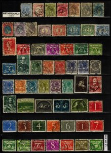 NETHERLANDS & Colonies CLEARANCE: 58 total  ~ CLR90337