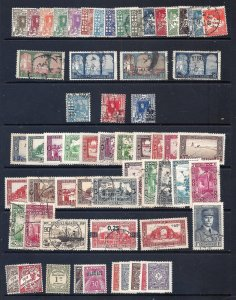 ALGERIA 1926-55 Over 150 used & unused scv over $80.00 less 75%=$20.00