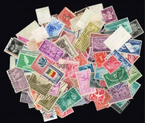 US STAMP 20TH USED US SINGLE STAMPS COLLECTION LOT