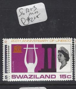 SWAZILAND  (P1510B)  QEII UNESCO SG 121-3   MNH