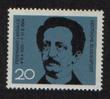 Germany 1964 MNH Ferdinand Lasalle