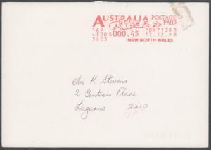 Australia, Meters