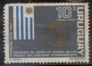 Uruguay 1967 SC#C308 Used L394