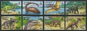 Soloman Islands Scott 1062-1069 MNH! Dinosurs