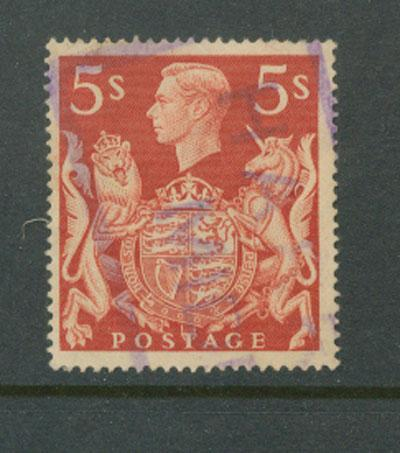Great Britain GVI  SG 477 used