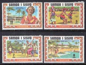 Samoa 344-347 MNH VF