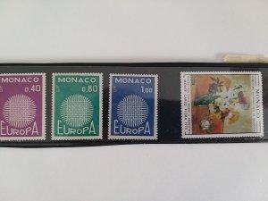 Monaco 1970 MNH