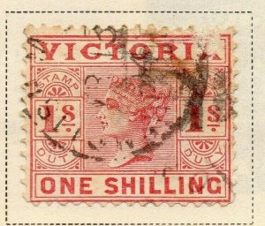 Victoria 1899 Early Issue Fine Used 1S. 326788