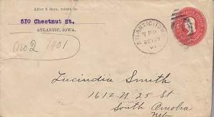 United States, Iowa, Postal Stationery