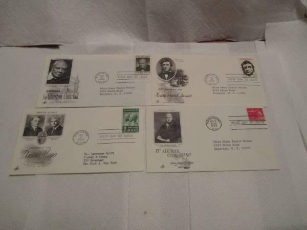 US FIRST DAY COVERS LOT OF 100 CACHETED ADDRESSED $50