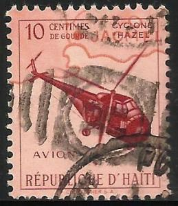 Haiti Air Mail Postal Tax 1955 Scott# RAC2 Used