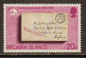 Pitcairn Isl. #142  MLH  (1974)  c.v. $0.75