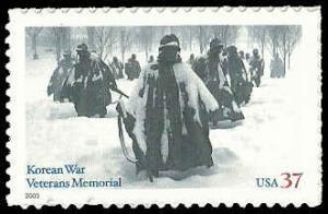 PCBstamps      US #3803 37c Korean War Veterans, 2003, MNH, (7)