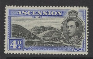 ASCENSION SG42c 1940 4d BLACK & ULTRAMARINE MTD MINT