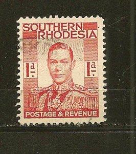 Southern Rhodesia 43 King George VI Used