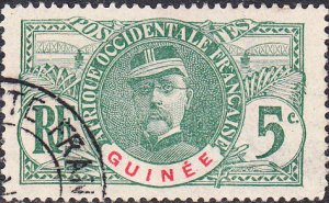 French Guinea #36 Used
