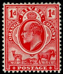SOUTH AFRICA - Orange Free State SG140, 1d scarlet, M MINT. Cat £12. WMK CA