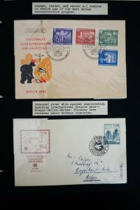 Worldwide Early Stamp Covers Collection